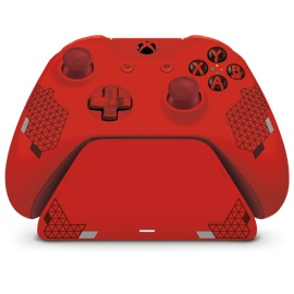 front view of Controller Gear Sport Red Special Edition - Xbox Pro Charging Stand