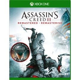 Assassin's Creed III Remastered for Xbox One game box