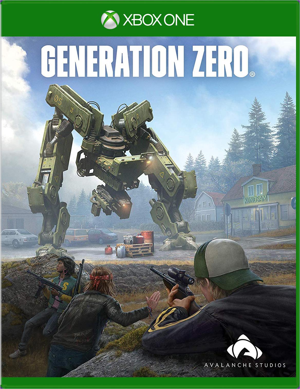 THQ Nordic Generation Zero Xbox One