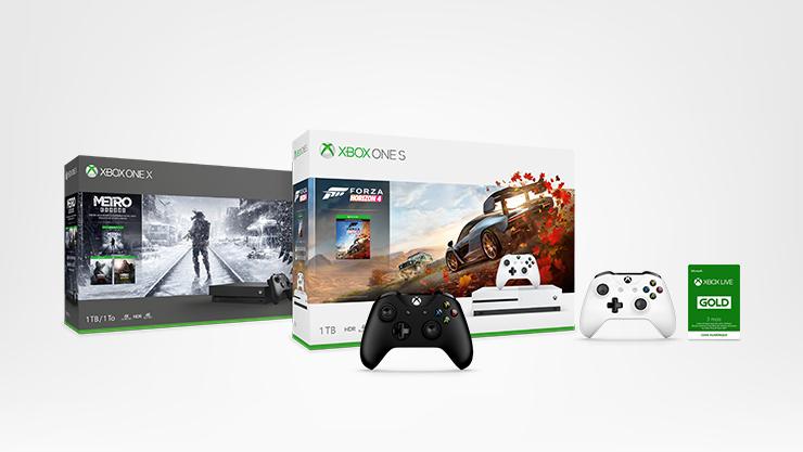 Xbox One S, Xbox One X
