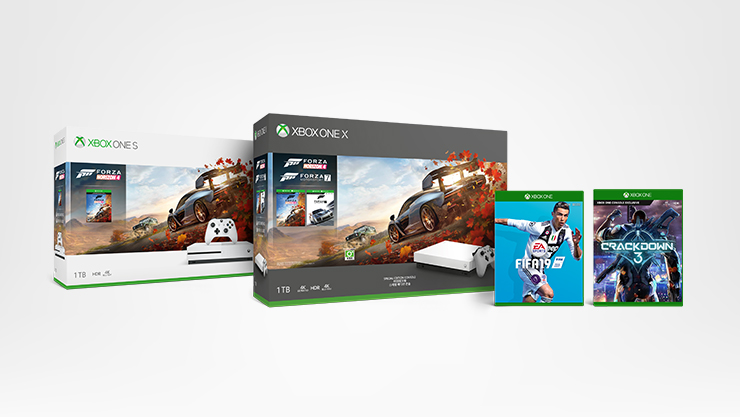 Xbox One Tom Clancy's The Division 2 Bundles, Forza Horizon 4 game, Sea of Thieves game