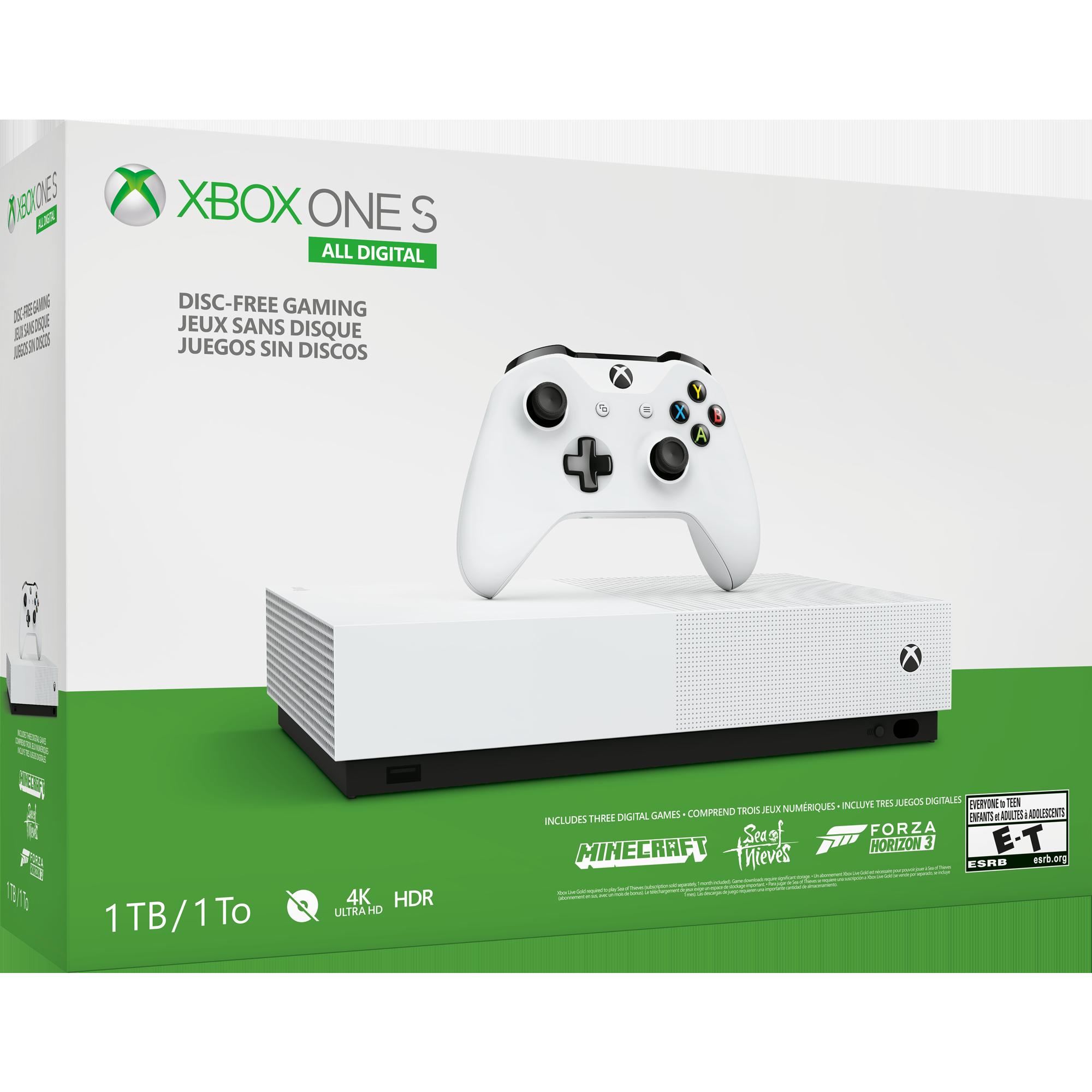 Xbox One S All-Digital Edition | Xbox