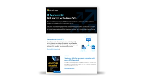 The IT Resource Kit for Azure S Q L.