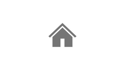 A távoli munkát jelképező ház ikon.