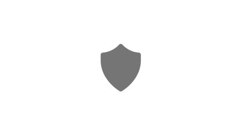 A felhasználók és az adatok védelmét jelképező pajzs ikon.