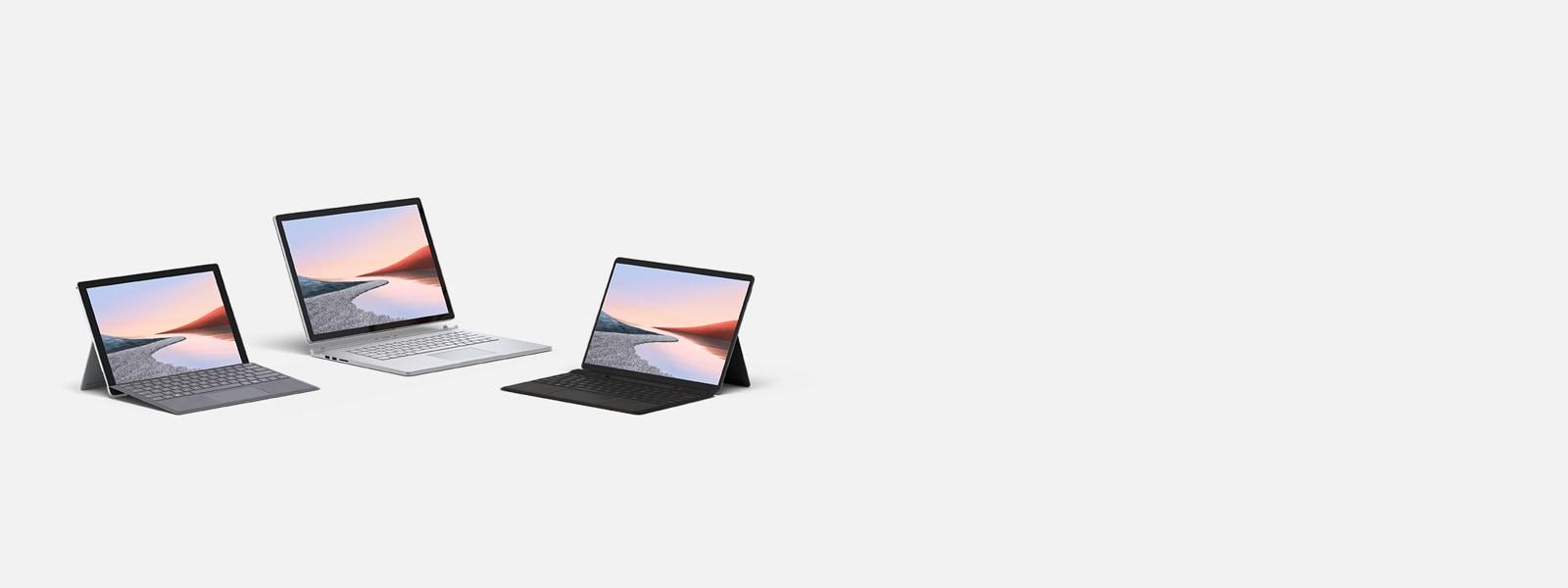 Obtenez 20% de réduction et plus sur la famille Surface : Surface Pro 7, Surface Laptop Go, Surface Laptop 3, Surface Book 3 et Surface Pro X.