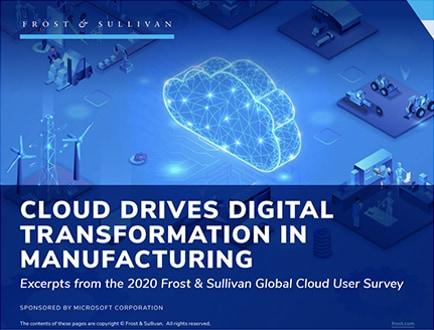 Die Cloud treibt die digitale Transformation in der Fertigung voran.