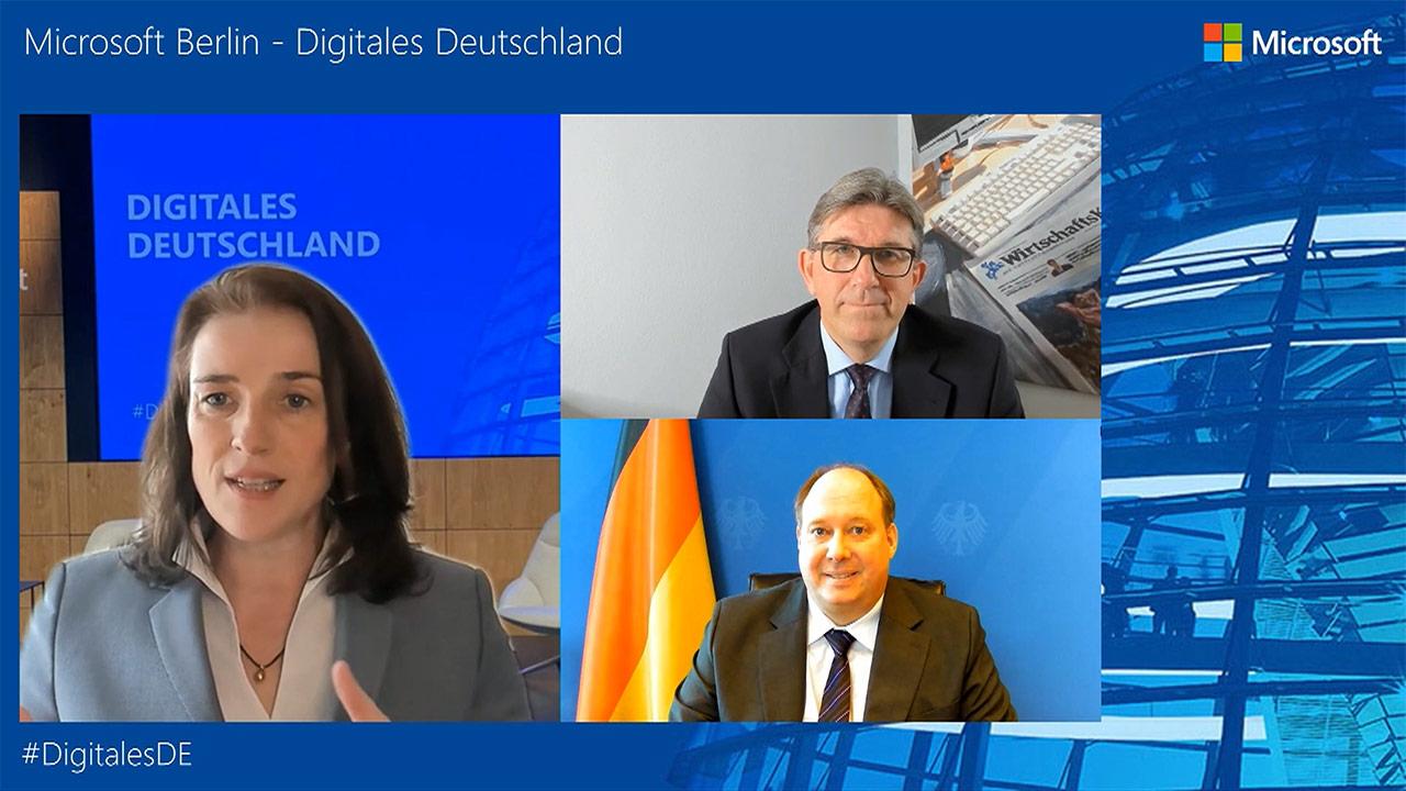 Thumbnail zu Digitales Deutschland mit Prof. Dr. Helge Braun, MdB