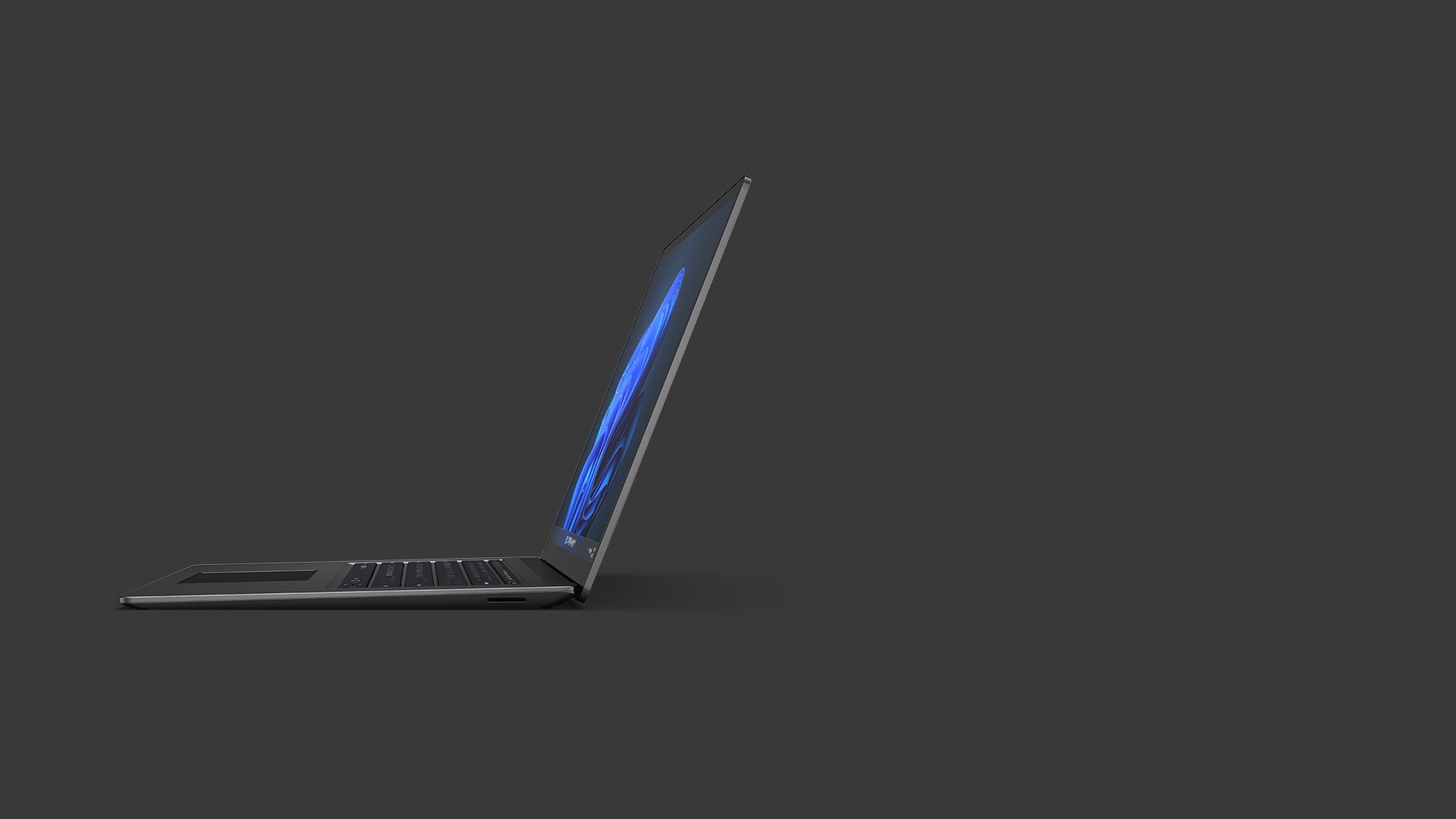 Surface Laptop 4 15-inch shown in Matte Black metal