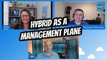 Evento Hybrid as a Management Plane organizado pelo canal IT Ops Talks.