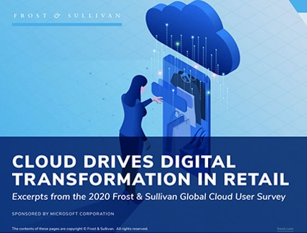 El informe titulado Cloud Drives Digital Transformation in Retail