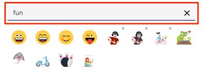 Emoji filter