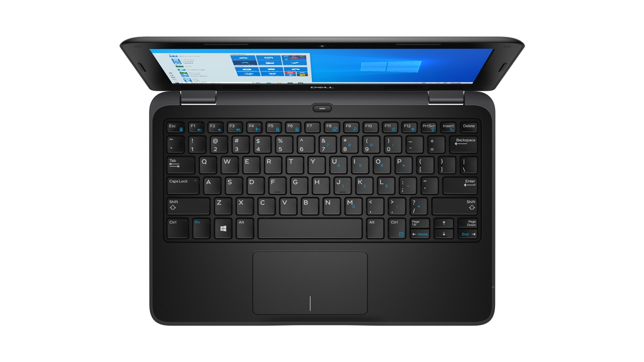 Birdseye view of Dell Latitude 3190 Celeron N4120 Laptop