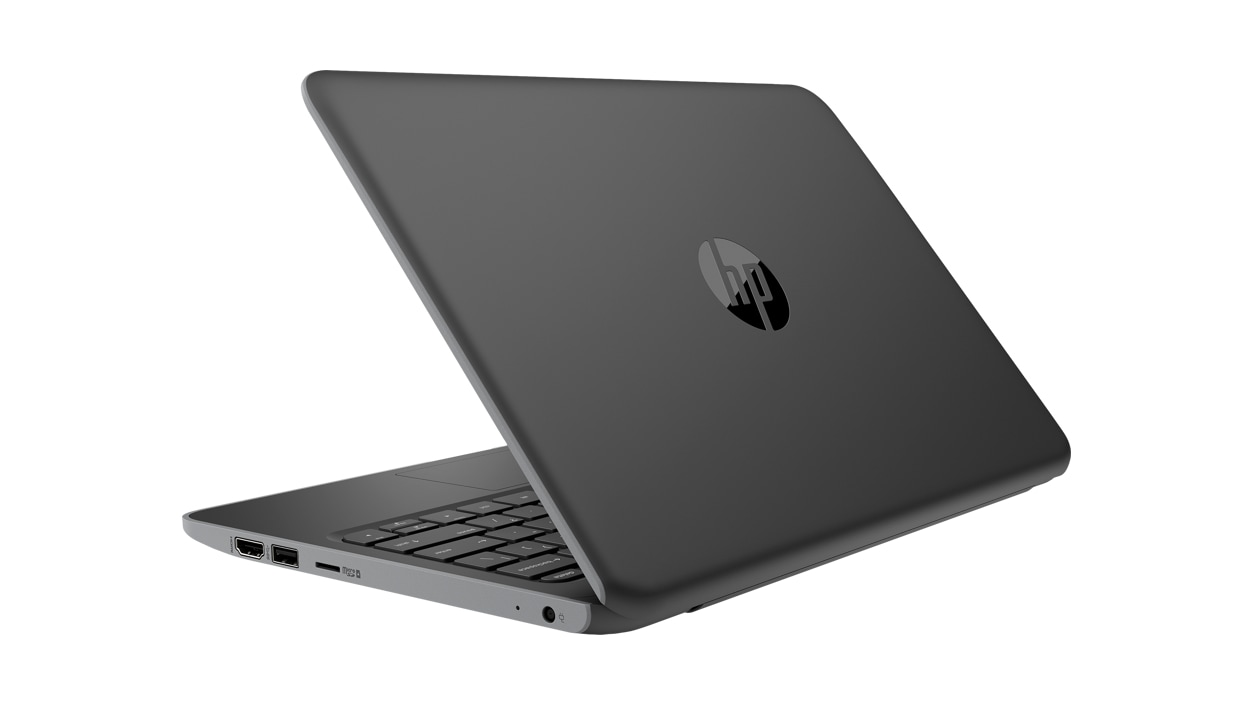 Right rear view of HP Stream Pro 11 G5 Notebook Laptop