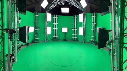 Avatar Dimension launches their brand new volumetric video capture studio in Virginia within Sabey's Intergate data center complex.