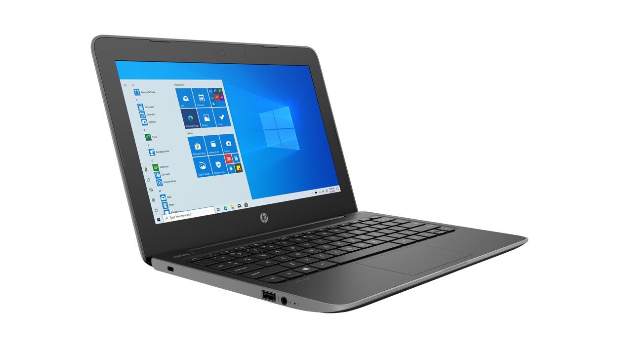 Left front view of HP SBUY K12 STR11G5 Laptop