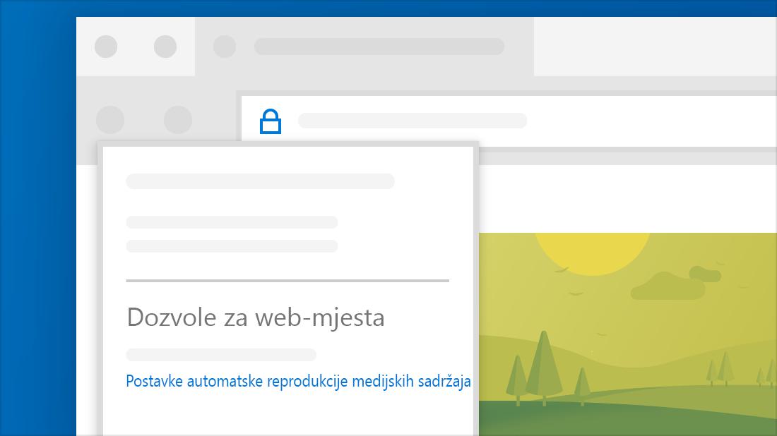 Blokiraj web mjesta za pronalaženje