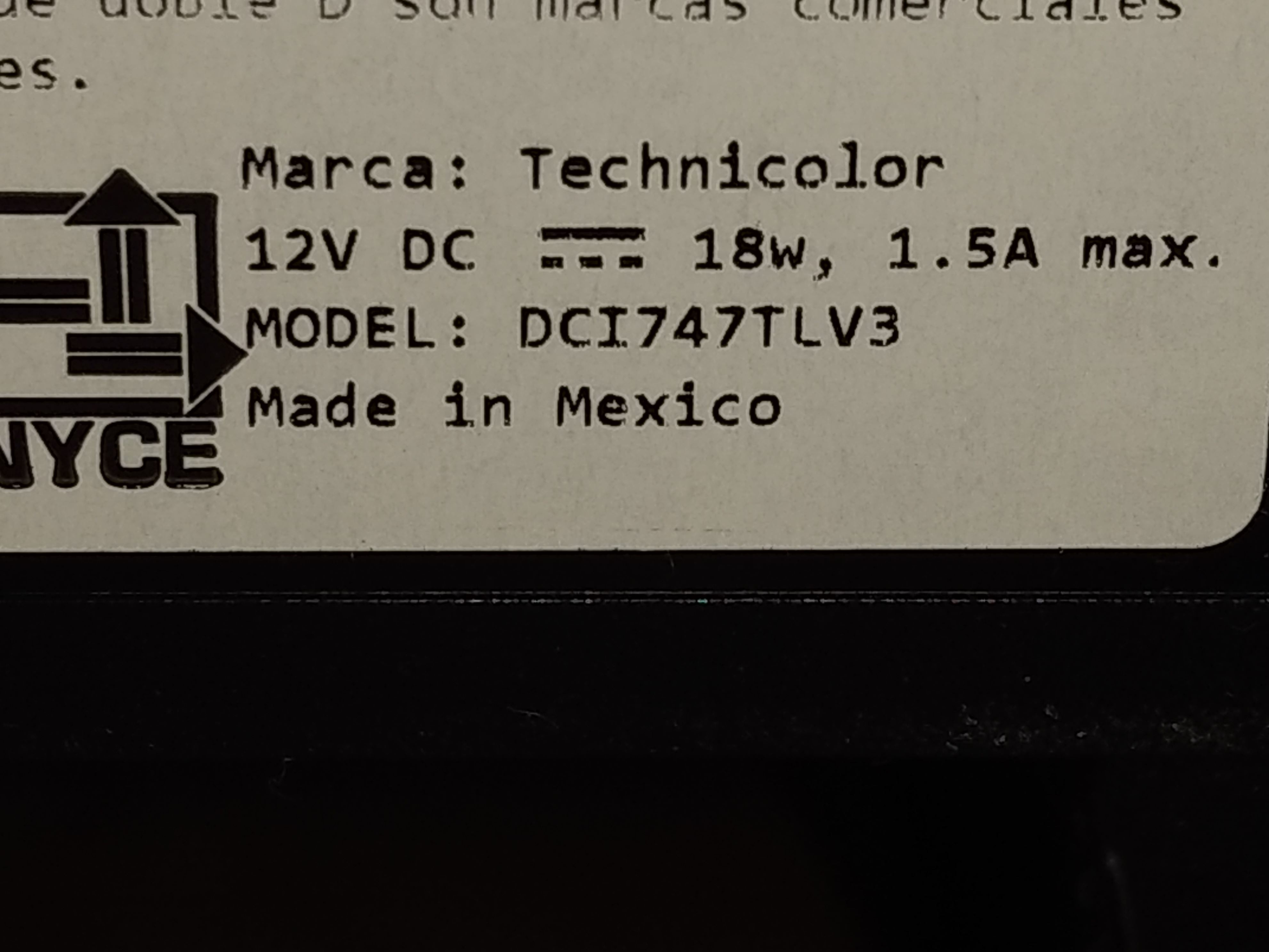 Technicolor: Configurar caja del cable DCI747TLV3 de Izzi [Translation-Set up cable box Izzi ... [IMG]